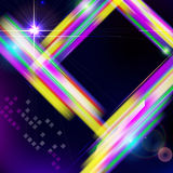 Abstract shiny technology trendy background. Royalty Free Stock Images