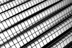 Abstract shiny tiles aluminum background Stock Images