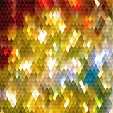 Abstract shiny triangular patterned background. Abstract colorful triangles  pattern geometric background - eps10 vector Royalty Free Stock Image