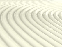 Abstract shiny white wave pattern Stock Images