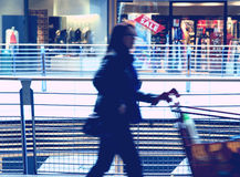 Abstract shopping Royalty Free Stock Photography