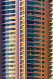 Abstract shot of multi storey building Royalty Free Stock Photos