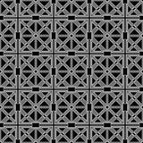 Abstract sier geometrisch naadloos patroon Royalty-vrije Stock Foto