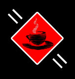 Abstract sign of cup Stock Image