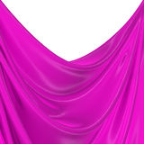 Abstract silk in the wind Stock Images