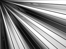 Abstract silver aluminium stripe background Stock Images