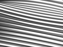Abstract silver aluminium stripe background Stock Image