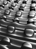 Abstract silver art background Royalty Free Stock Images