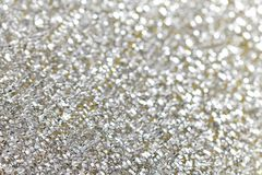 Abstract silver background with texture. White and silver abstract bokeh lights. defocused background Royalty Free Stock Images