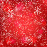 Abstract silver christmas  card. Christmas Snowflake on abstract background. Stock Image