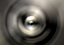 Abstract silver cone Royalty Free Stock Image