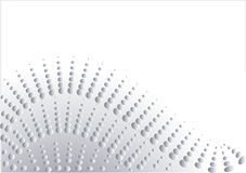 Abstract in silver design. Illustration Royalty Free Stock Photo