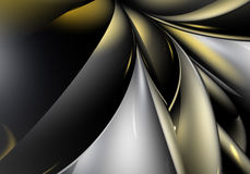 Abstract silver&gold background 01 Stock Photos