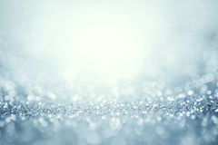Abstract silver light for holidays background Stock Images