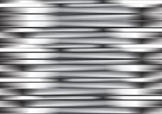 Abstract silver metallic stripes Royalty Free Stock Images