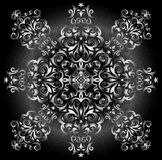 Abstract silver ornament Royalty Free Stock Photo