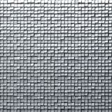 Abstract silver pixel background,  made of metallic cubes. Royalty Free Stock Images