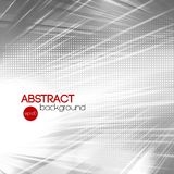 Abstract silver shiny template background Stock Image