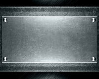 Abstract silver steel background Stock Photo