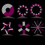 Abstract simbols. Vector Illustration Royalty Free Stock Photos