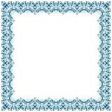 Abstract simmetric square frame Royalty Free Stock Photo