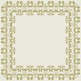 Abstract simmetric square frame Royalty Free Stock Image