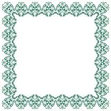 Abstract simmetric square frame Royalty Free Stock Images