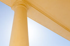 Abstract Simple Column Stock Photo