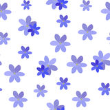 Abstract Simple Flower Seamless Pattern Background Royalty Free Stock Images