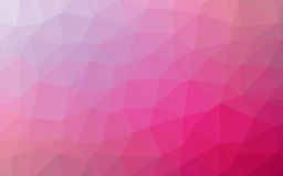 Abstract Simple geometric nature tone origami pink and purple background Stock Photo
