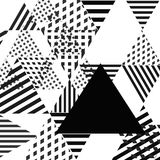 Abstract simple geometric triangle background Royalty Free Stock Photos