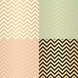 Abstract Simple Glossy Golden Seamless Pattern Background Collec Stock Photography