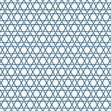Abstract simple seamless blue triangle pattern royalty free illustration