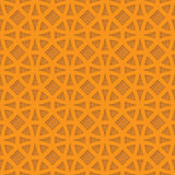 Abstract simple seamless vector pattern. Abstract orange simple seamless pattern - vector Royalty Free Stock Image