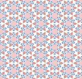 Abstract six-pointed star pattern Royalty Free Stock Photo