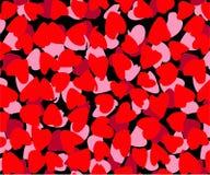 Abstract sjaalpatroon, de achtergrond van het sjaalontwerp stock illustratie