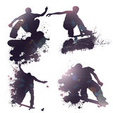 Abstract Skateboard Jump Royalty Free Stock Image