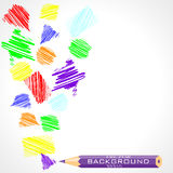 Abstract sketch background Royalty Free Stock Photos