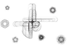 Abstract sketch image vector illustration