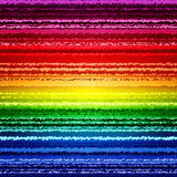 Abstract sketch rainbow stripes colorful Stock Image