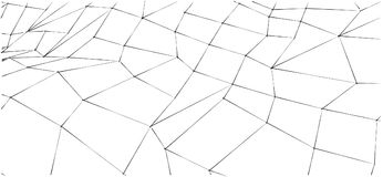 Abstract sketchy outline black and white background for web site, banner or brochure design. Stock Photography