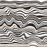 Abstract wavy lines background Stock Photo