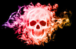 Abstract Skull Royalty Free Stock Image