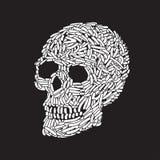 Abstract Skull vector illustration
