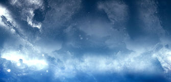 Abstract Sky. Abstract blue sky. Clear and calm stock image