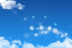 Abstract sky background Royalty Free Stock Photo