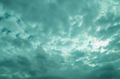 Abstract Sky, Background and Texture Royalty Free Stock Photography