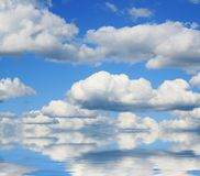 Abstract sky and clouds Stock Image