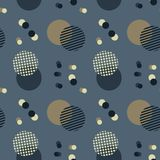 Abstract sky harmony seamless pattern. Suitable for screen, print and other media Stock Illustration