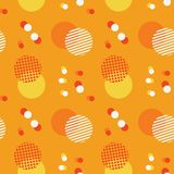 Abstract sky harmony seamless pattern. Suitable for screen, print and other media Vector Illustration